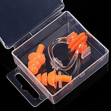 다이빙 실리콘 소재의 귀마개 / 코 클립 / 블루, 옐로우, 오렌지 수영, 녹색