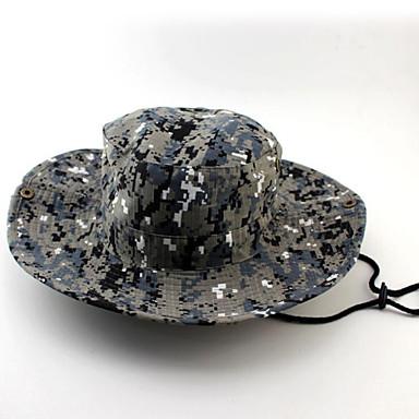 Ljetni šešir Kapa Vodootpornost / Izolacija / Visoka prozračnost (> 15.001 g) / Lagani materijali / Puha UniseksCrn / Cyan / Kamuflirati