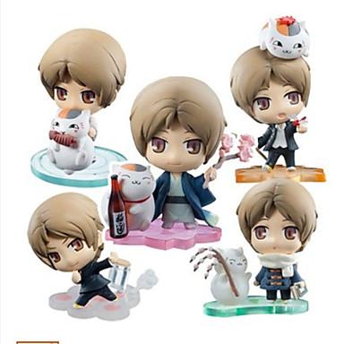 Anime Action Figurer Inspirert av Natsume Yuujinchou Natsume Takashi PVC 5 CM Modell Leker Dukke