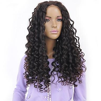 Ljudska kosa Full Lace Lace Front Perika Wavy 130% 150% Gustoća 100% rađeno rukom Afro-američka perika Prirodna linija za kosu Kratko