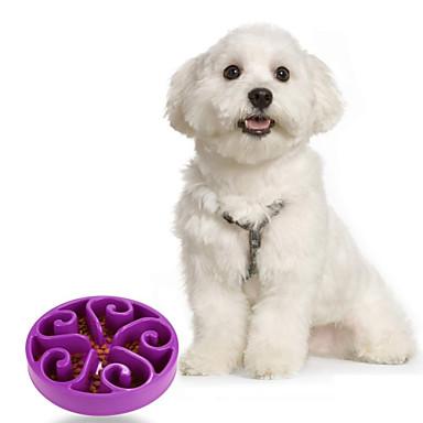 그릇&물병 애완동물 방수 퍼플 레드 그린 블루 애완 동물