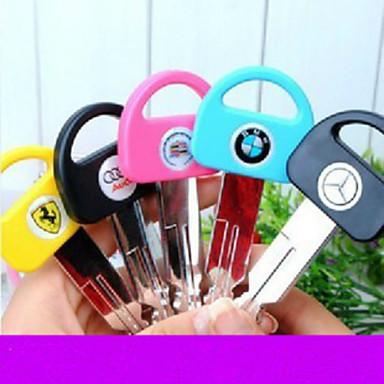 מתנה דוגמנות עט כדורי עט מפתח 1pc עבור עט מפתח המכונית bmw / אאודי (סגנון אקראי)