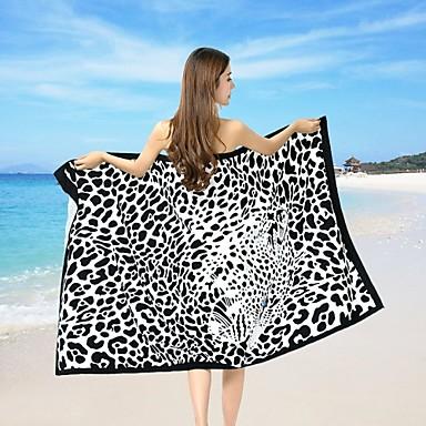 מגבת חוף,הדפסה תגובתית איכות גבוהה 100% פוליאסטר מַגֶבֶת