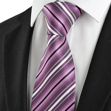 Solmio-Polyesteri,Raidallinen,Musta / Purppura