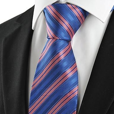 Solmio-Polyesteri,Raidallinen,Sininen / Pinkki