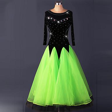 Für den Ballsaal Kleider Damen Leistung Elasthan Drapiert Kleid