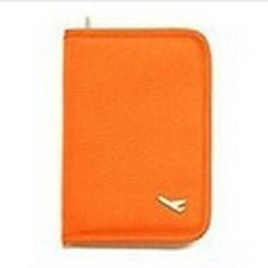 Reisepasshülle & Ausweishülle Multi-Funktion Kulturtasche für Multi-Funktion Kulturtasche Schwarz Orange Grau Rot
