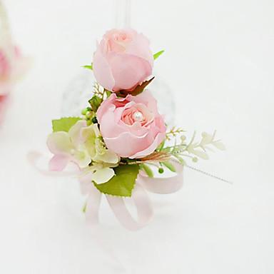 Hochzeitsblumen Knopflochblumen Einzigartiges Hochzeits-Dekor Besondere Anlässe Party / Abend Baumwolle 14 cm ca.
