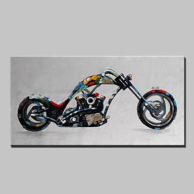 Pintados à mão Arte Pop Horizontal, Modern Tela de pintura Pintura a Óleo Decoração para casa 1 Painel