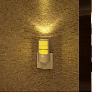 kreatív meleg fehér újratölthető fényérzékelő hang indukciós kapcsolatos baba alvás éjszakai fény (vegyes szín)