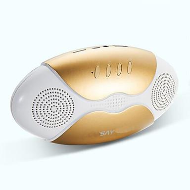 Telakointiasema Bluetooth Kannettava Langaton Bluetooth 2.1 USB Subwoofer Kulta Musta Punainen Sininen