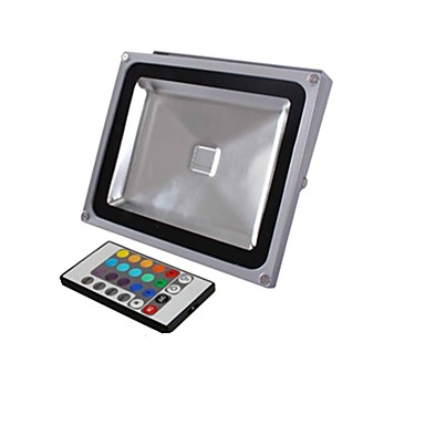 1900 lm Proiectoare LED 1 led-uri LED Integrat Telecomandă RGB AC 85-265V