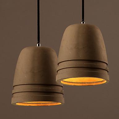 Traditionell-Klassisch Pendelleuchten Für Wohnzimmer Esszimmer Studierzimmer/Büro Spielraum Garage AC 100-240V Glühbirne nicht inklusive