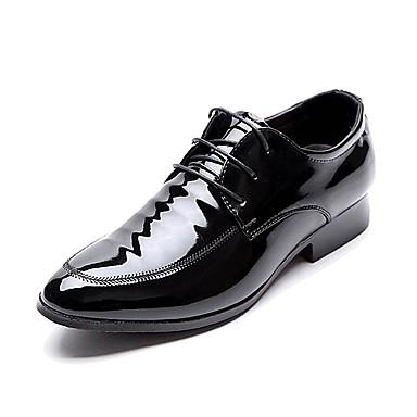 Herrn Schuhe Lackleder Frühling / Herbst Komfort / formale Schuhe Outdoor Schwarz / Hochzeit / Party & Festivität / Formal Schuhe