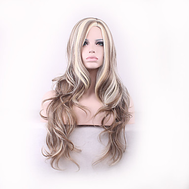 Synthetische Haare Perücken Klassisch Große Wellen Gute Qualität Alltag
