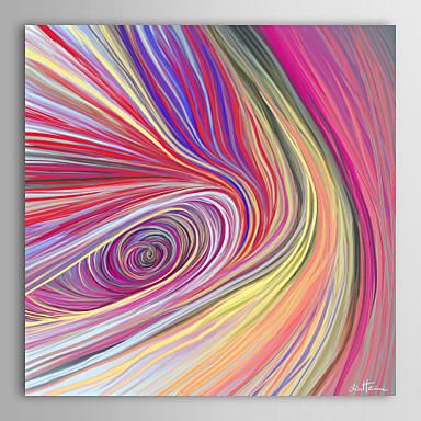 Abstrakt Leinwand drucken Ein Panel Fertig zum Aufhängen,Quadratisch