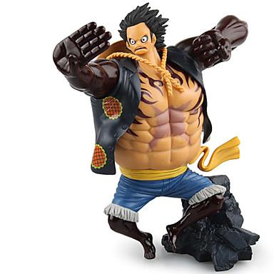 Figuras de Ação Anime Inspirado por One Piece Monkey D. Luffy PVC 17.5 CM modelo Brinquedos Boneca de Brinquedo
