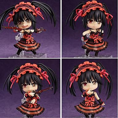 Anime Action-Figuren Inspiriert von Date A Live Kurumi Tokisaki PVC 10 CM Modell Spielzeug Puppe Spielzeug