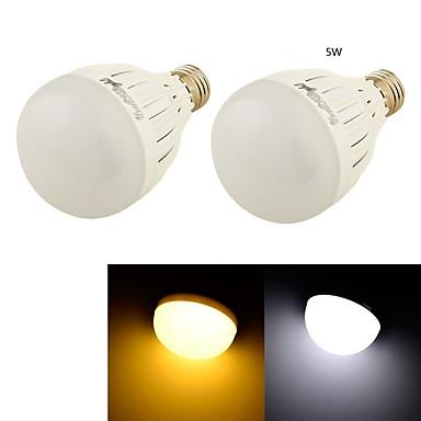 E26/E27 LED Kugelbirnen B 10 SMD 5730 460 lm Warmes Weiß Kühles Weiß 3000/6000 K Dekorativ AC 85-265 AC 220-240 AC 110-130 V