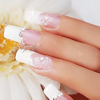 Nagel-Kunst-Dekoration Strassperlen Make-up kosmetische Nagelkunst Design