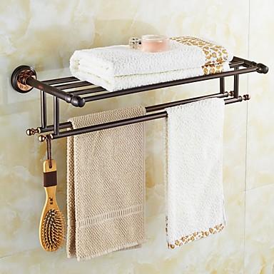 Prateleira de Banheiro / Dourado Neoclássico