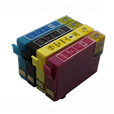 bloom®t1631-t1634 Tusz kompatybilny do Epson WF-2540wf / WF-2630wf / 2650dwf / 2660dwf pełnego tuszu (4 kolory 1 zestaw)