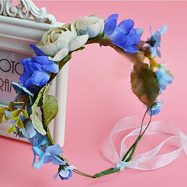 Damen Stoff Kopfschmuck-Hochzeit Besondere Anlässe Freizeit im Freien Kränze 1 Stück