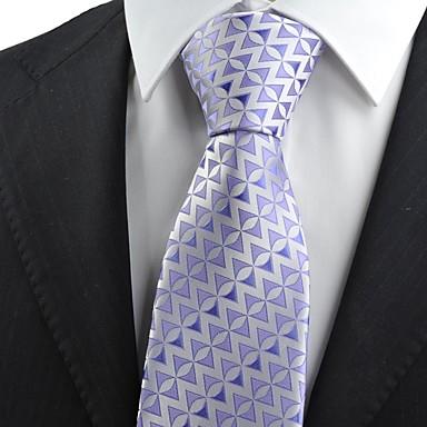 Krawatte(Lila,Polyester)Muster