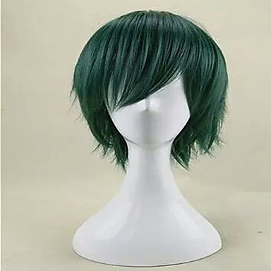 Synthetic Wig / Cosplay & Costume Wigs Straight Synthetic Hair Green Wig Women's Capless