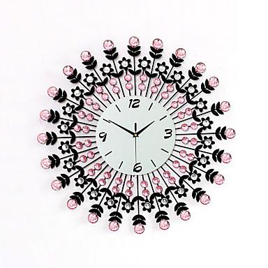 σύγχρονη σιδήρου διαμάντι ρολόι σχεδιασμό τοίχου
