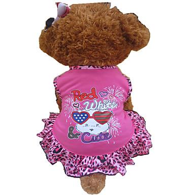Hund Kleider Hundekleidung Herz Tier Rose Rosa Baumwolle Kostüm Für Haustiere