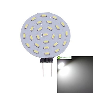 g4 led spotlight mr11 27 smd 3014 300-380lm lämmin valkoinen kylmä valkoinen 3000-3500 6000-6500k koristeellinen dc 12 ac 12v