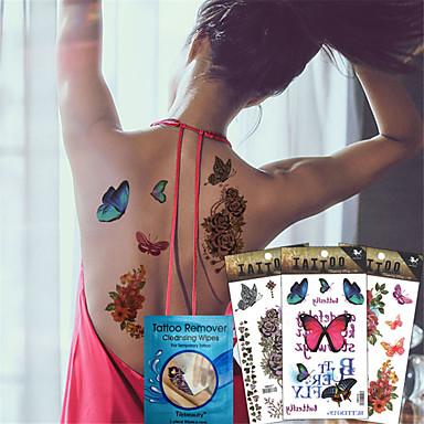 Tattoo Aufkleber Andere Non Toxic WaterproofKind Damen Herren Erwachsener Teen Flash-Tattoo Temporary Tattoos