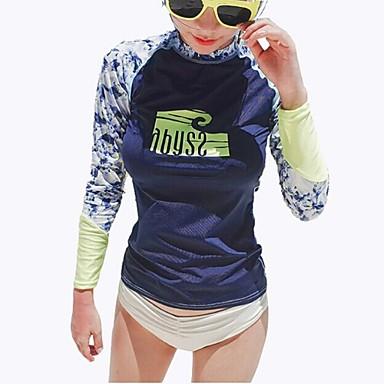 Naisten Vedenkestävä Ultraviolettisäteilyn kestävä Hengittävä Kevyet materiaalit LYCRA® Märkäpuku Vaatesetit-Uinti Sukellus Lainelautailu