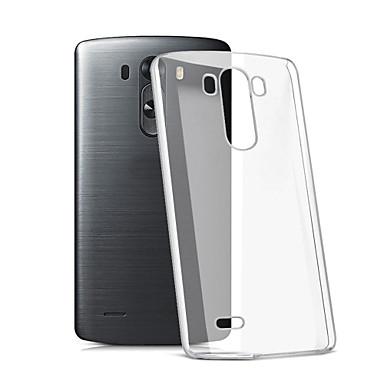 מגן עבור LG G3 LG LG K10 K7 LG LG G5 LG G4 מגןLG שקוף כיסוי אחורי צבע אחיד רך TPU ל