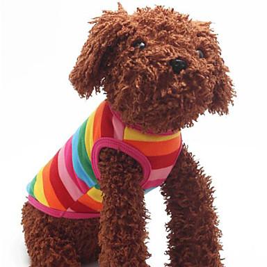 כלבים טי שירט קשת בגדים לכלבים חורף / קיץ / קיץ/אביב Raita אופנתי