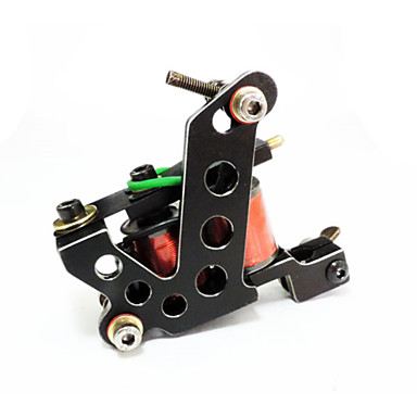 מכונת קעקועים עם סליל מכונות קעקוע professiona ברזל יצוק גוון חיתוך חוטים
