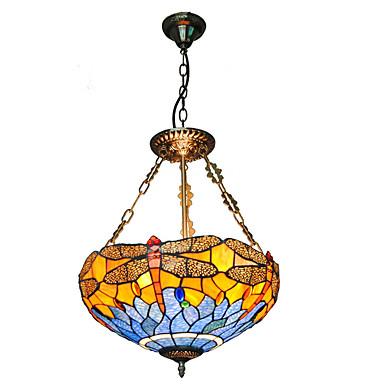 טיפאני מנורות תלויות עבור סלון חדר שינה מטבח חדר אוכל משרד חדר ילדים כניסה חדר משחק מסדרון חניה נורה אינה כלולה