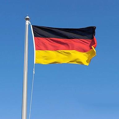 2016 der Polyester Deutschland Flagge Fahne 5 * 3 ft 150 * 90 cm hohe Qualität günstigen Preis in-kind Schießen (ohne flagpole)