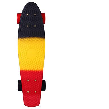 22 inç Standart Skateboards Plastik Abec-11 Gökküşağı