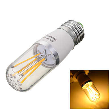 E26/E27 LED-hehkulamput T 4 LEDit COB Koristeltu Lämmin valkoinen Kylmä valkoinen 2800/6500lm 2800/6500kK AC 85-265V