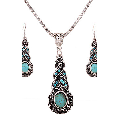 Damen Schmuckset Modisch nette Art Ohrringe Halskette Für Party Besondere Anlässe Geburtstag Hochzeitsgeschenke