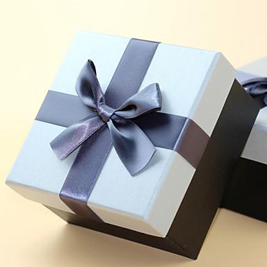 1 조각/세트 부탁 홀더-큐빅 카드 종이 기프트 박스