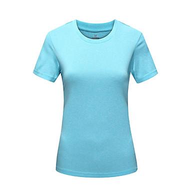 KORAMAN Naisten T-paita vaellukseen Ulko- Nopea kuivuminen Ultraviolettisäteilyn kestävä Kosteuden läpäisevä Pölynkestävä Korke