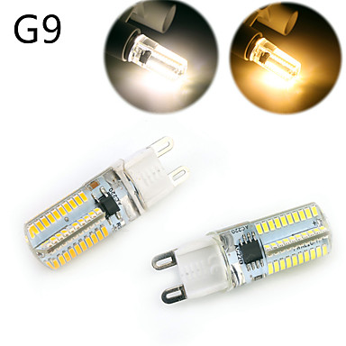 E14 G9 G4 BA15d LED-maissilamput T 80 ledit SMD 3014 Himmennettävissä Koristeltu Lämmin valkoinen Kylmä valkoinen 500lm