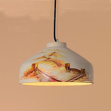 40W מנורות תלויות ,  גס אחרים מאפיין for קריסטל / סגנון קטן PVC חדר שינה / חדר אוכל / חדר עבודה / משרד / חדר ילדים / מסדרון / מוסך