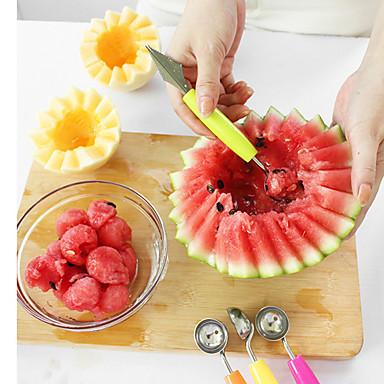 1 Stücke Cuchara For Für Obst Edelstahl Multifunktion / umweltfreundlich / Gute Qualität