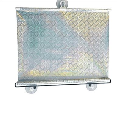 abordables Accessoires Intérieur de Voiture-carking ™ rétractable voiture de fenêtre de véhicule rouleau pare-soleil de protection aveugle avec des ventouses (58 * 125)