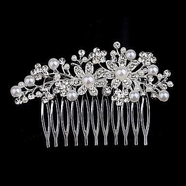פנינה / קריסטל / אבן נוצצת מסרקים 1 חתונה / אירוע מיוחד / קזו'אל כיסוי ראש