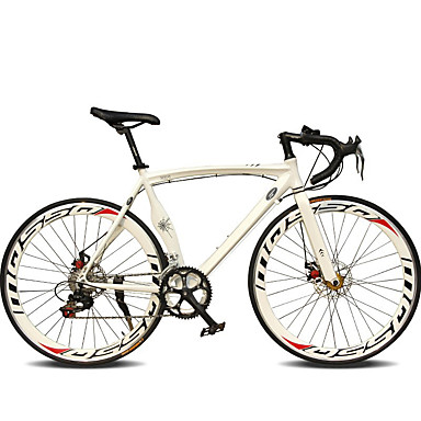 cheap Bikes-Road Bike Cycling 14 Speed 26 Inch / 700CC SHIMANO TX30 Double Disc Brake Ordinary Monocoque Ordinary / Standard Aluminium Alloy / #
